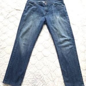 Lucky Brand 221 Original Straight Zip Fly Jeans